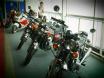 Honda CB 750 at the Montreal Motorcycle show