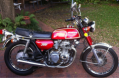 USA CB 350F that moved to Australia
